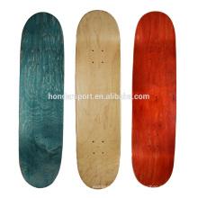 Plataformas de skate de madeira de maple canadense de estilo novo barato por atacado