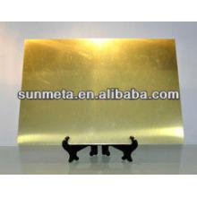 Fabrik Direkt Sublimation Metall Blech Namenskarte