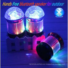 Venta caliente Mini LED que enciende el Presidente inalámbrico de Bluetooth
