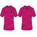 diseño de moda caliente de la impresión de la sublimación de la camiseta de la venta caliente