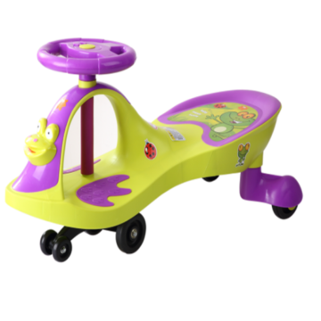 Frog Shape Child Swing Car Toy Toy Outdoor