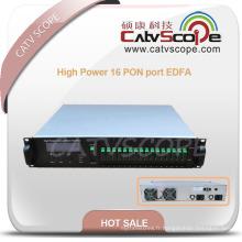 Port de 1550nm haute puissance 16 Pon EDFA / amplificateur Ea55-16