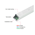 White driving power for LED emergency light