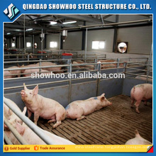 Light steel structure prefabricated pig farm in india for sale