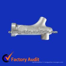 vanne en fonte de castings de fonte grise pour des pièces de machines de nourriture