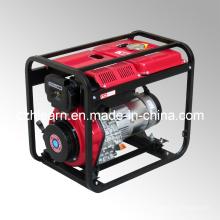 Type de châssis ouvert à refroidissement par air Générateur diesel simple à cylindre (DG5000)