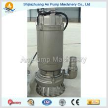 Elétrica de aço inoxidável Precision Casting Submersível Sewage Pump