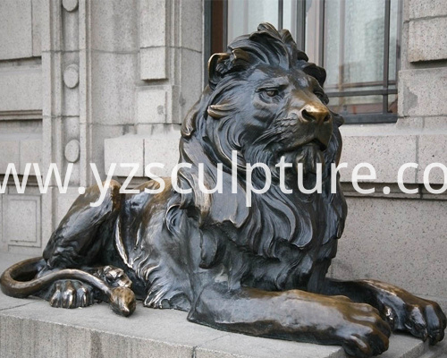 Life Size Lion Sculpture