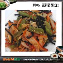 Frozen calamari Salad with nature color, seafood salad