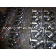 150lb Carbon Steel Y-Strainer with Flange End