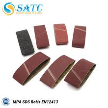 Cintos abrasivos de alta qualidade Cintos abrasivos de lixamento para polimento