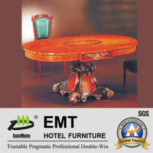 Retro Style Wooden Table Dining Table (EMT-FD07)