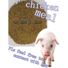 Comida de pollo (proteína 65%) para alimentación animal