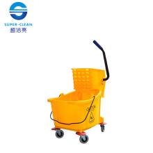 32L Single Mop Wringer Trolley (B-040B)