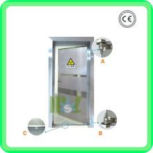 Свинцовая дверь | Входная дверь из нержавеющей стали из нержавеющей стали - MSLLD01