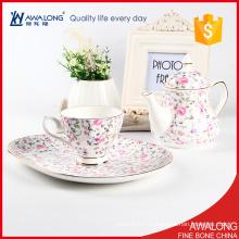 Conjunto de té coreano única del té de la porcelana /
