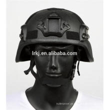 NIJ nível 4 kevlar balístico balístico à prova de bala capacete