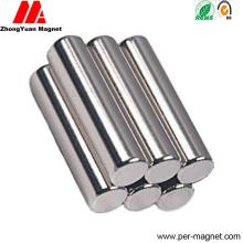 Спеченный N45 N48 N50 Неподвижный цилиндр NdFeB Неодимовый магнит