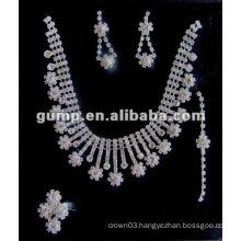 Latest bridal wedding jewelry set (GWJ12-541)