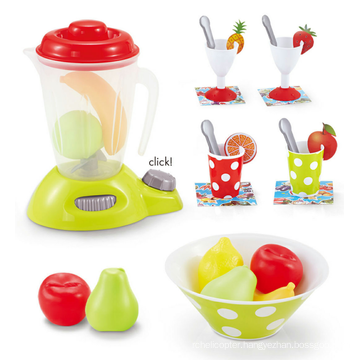 Educational electrical emulational mini plastic kids juicer toy