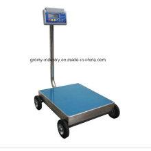 Electronic Digital Portable Plataforma bancada Escala com rodas Ec-P
