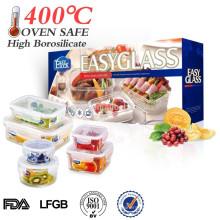 L heißen Verkauf leer Tiffin Glasbehälter für Lebensmittel