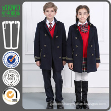 2016 Fashion Cheap Primiary Wool Coat School Uniform Factory