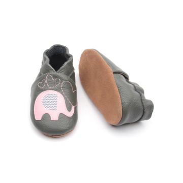 Infant Soft Leather Slip on Baby Wanderschuhe
