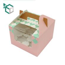 Лишнее звено Гуанчжоу складной торт дизайн коробки оптом