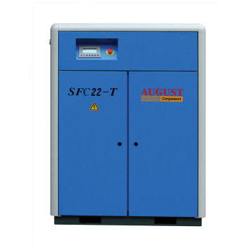 22kw 30hp AOÛT SFC22 compresseur d'air à vis 20hp