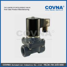 Válvula de solenoide de agua 110v en plástico