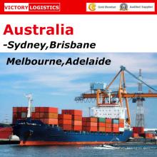 Logística/encaminhador de mercadorias transporte de China para Sydney, Brisbane, Melbourne, Austrália