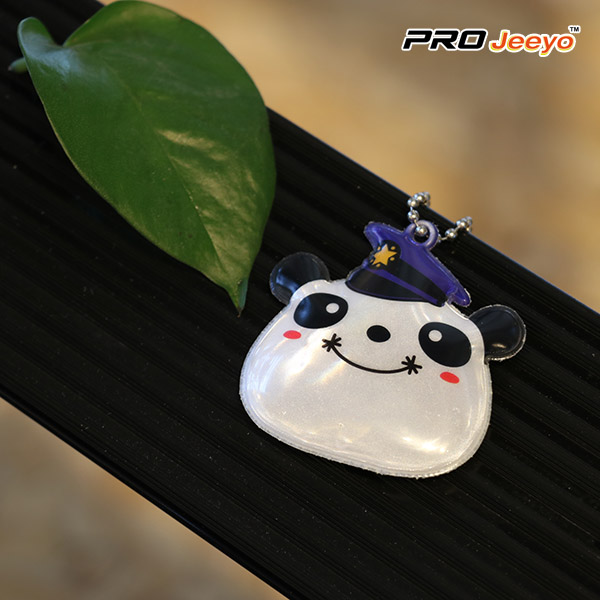 adore decorative wear cap panda bag pendant