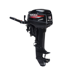 Powerful 2 Stroke 18HP Marine Engine Outboard Water Cooled