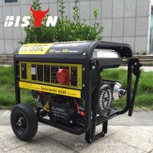 BISON CHINA TaiZhou 6kw Dynamo OHV SH7000dx Benzin-Generator