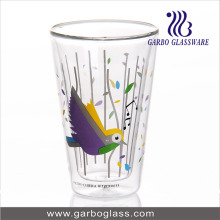 Stock Double Wall Glass Cup for Coffee