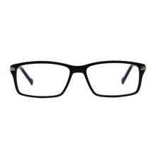 Classic New Italy Design Quality Hot Sale Men Rectangle tr90 Blue Light Blocking Optical Glasses