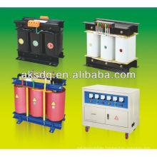 SG three phase dry type electric transformer 220V to 12v