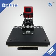prensa de calor do cartão pvc manual inclinado