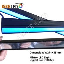 Lampe de surface de miroir LED Lampe changement de couleur dynamique