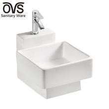 Forme spéciale Chine fabricant lavabo en céramique en céramique