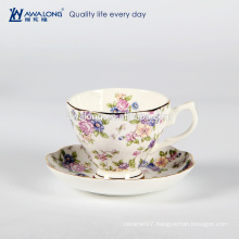 Royal Aberlt chinoiserie coffee cup and saucer