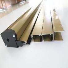 Fly screen roller blinds for doors