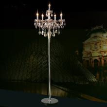 classical vintage crystal floor lamp
