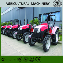 55HP Small horsepower 4WD Wheeled Farm Tractors With Cab