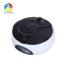 6 meal Automatic timed pet dog cat feeder electric LCD display electronic programmable portion control