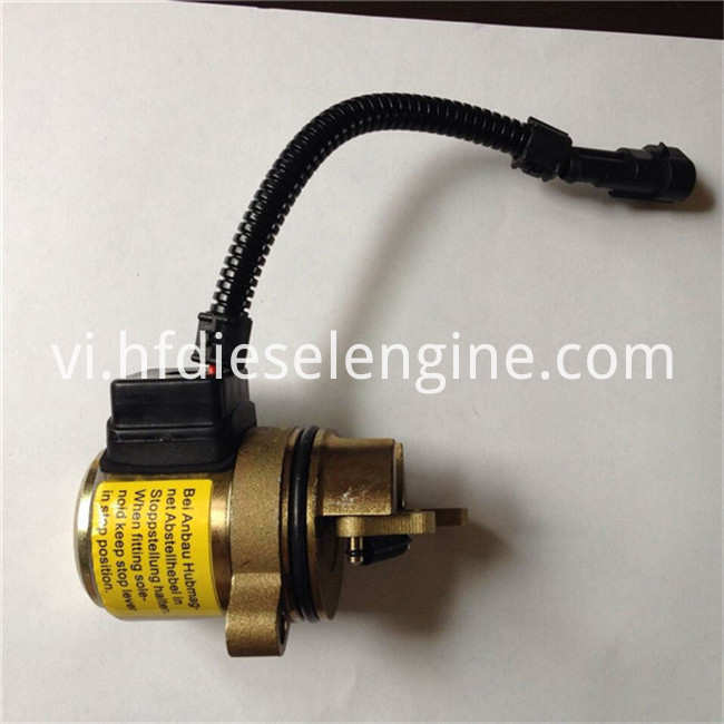 engine stop solenoid (4)