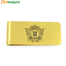 Metal Card Holder With Money Clip