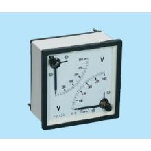 Double voltmètre et ampèremètre