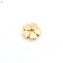Wholesale DIY Jewelry Materials Kawaii Silver Gold Love Peach Heart Charms